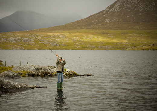 salmon fishing connemara